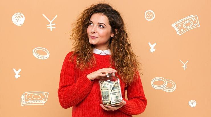 キレイモの料金プランを選ぶ女子の画像