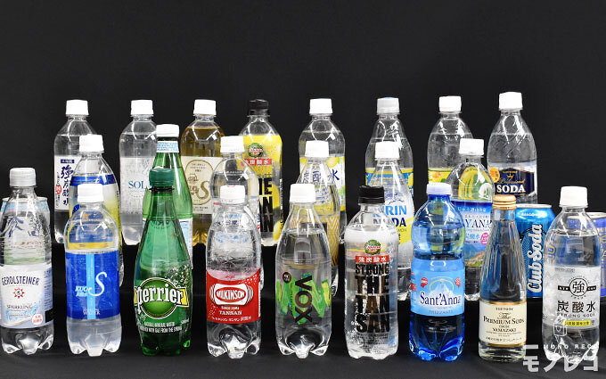 炭酸水おすすめ25選|強い炭酸水から珍しい炭酸水までを徹底比較