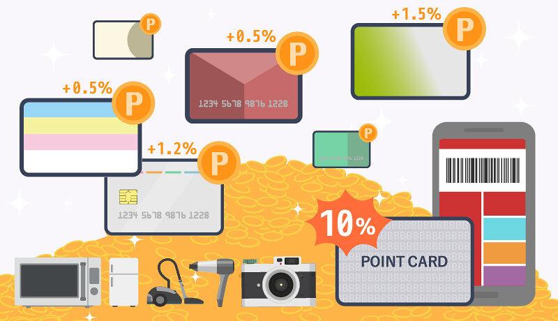 ビックカメラポイントを必ず10%の還元率で貯めるには?他ポイントとの重ね取りで総還元率もUP!