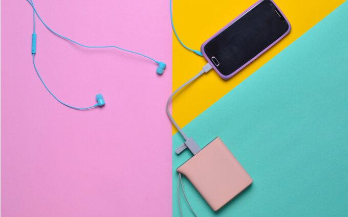 かわいいモバイルバッテリーおすすめ14選|タイプ別に紹介【2020年版】