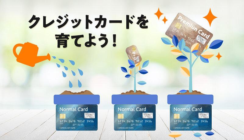 クレジットカードを育てるとは?三井住友カード、JCB、アメックスを育てる人が知るべきことを徹底解説