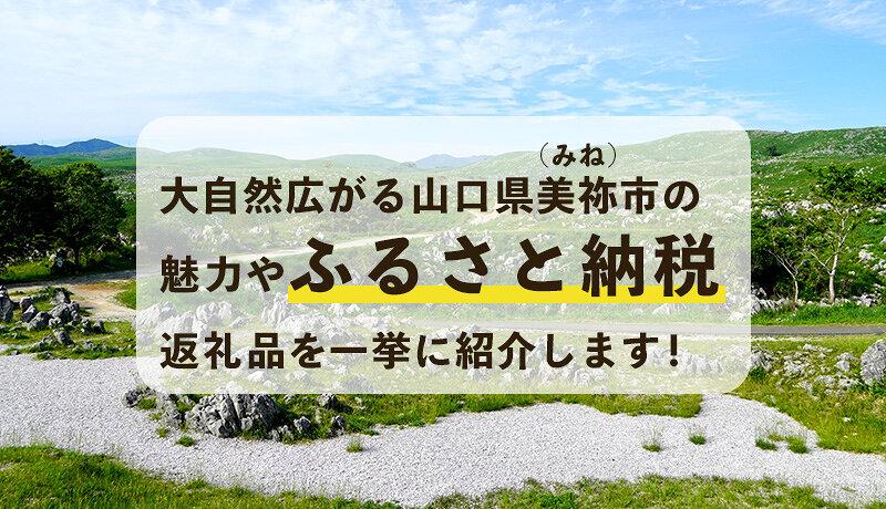 大自然広がる山口県美祢(みね)市の魅力やふるさと納税返礼品を一挙に紹介します!
